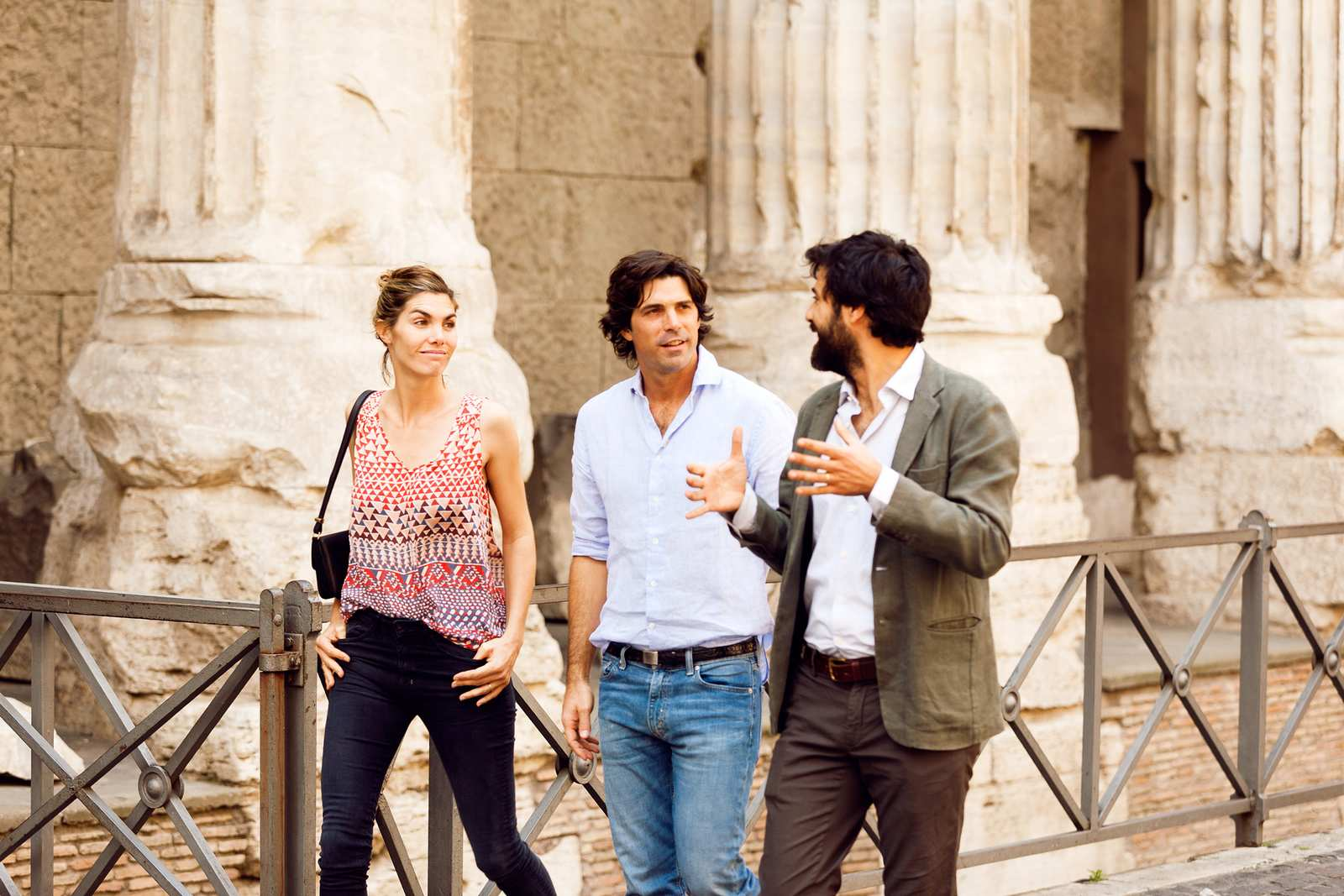 Nacho Figueras on the Pantheon