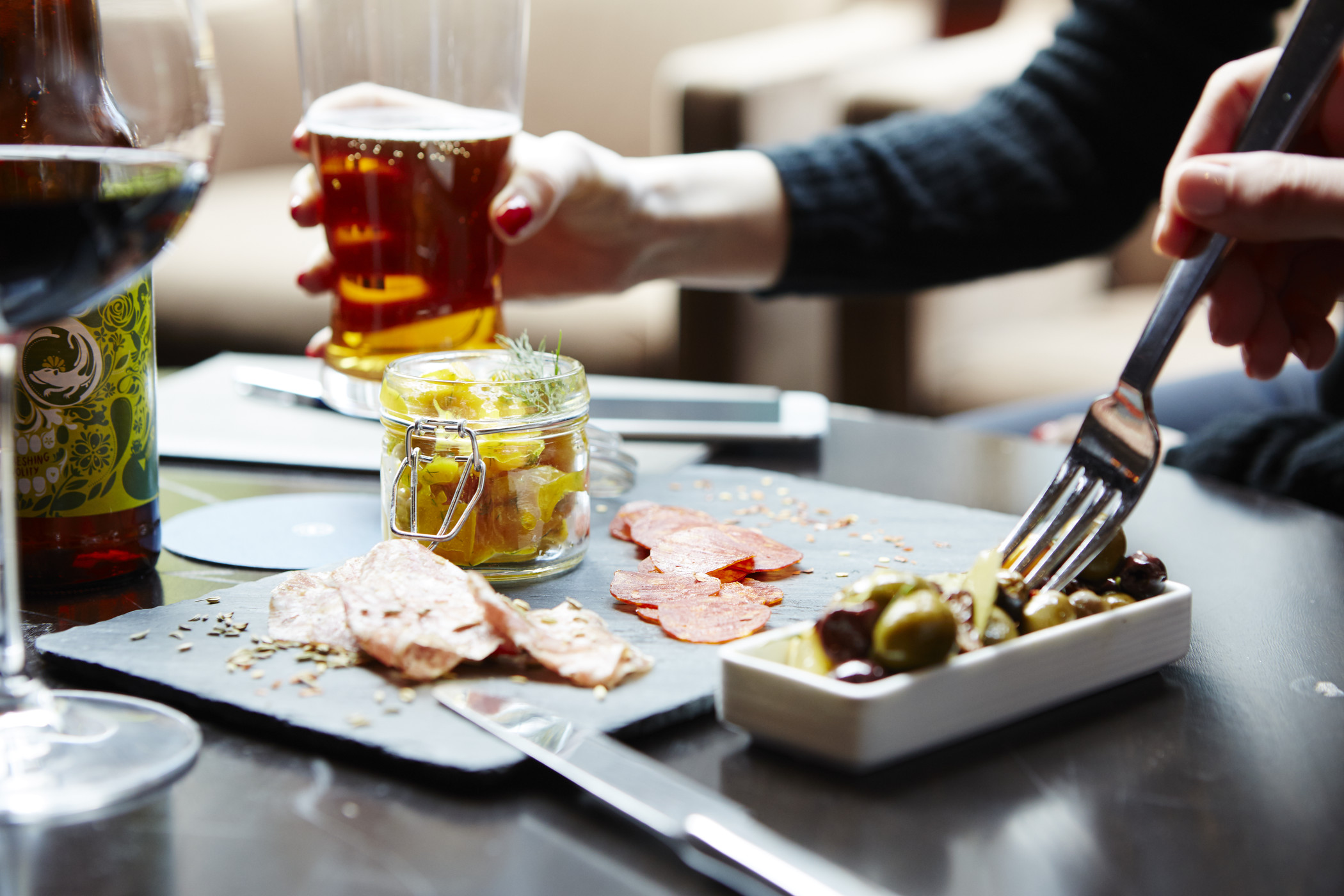 Sheraton - Charcuterie with craft beer